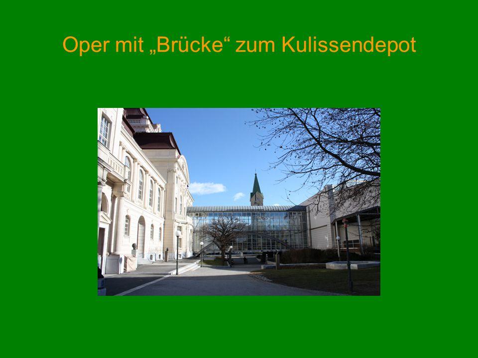 """Oper mit """"Brücke zum Kulissendepot"""