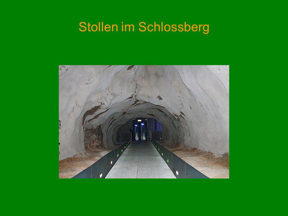 Stollen im Schlossberg