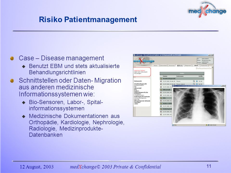 Risiko Patientmanagement