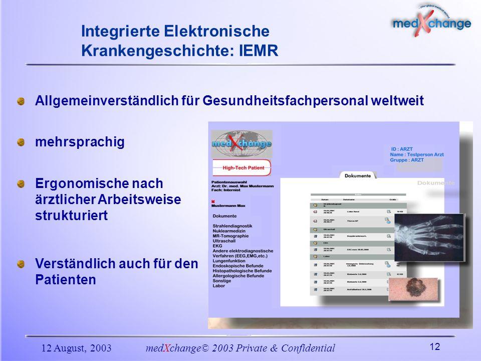 Integrierte Elektronische Krankengeschichte: IEMR