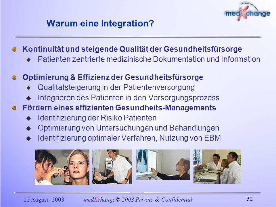 Warum eine Integration