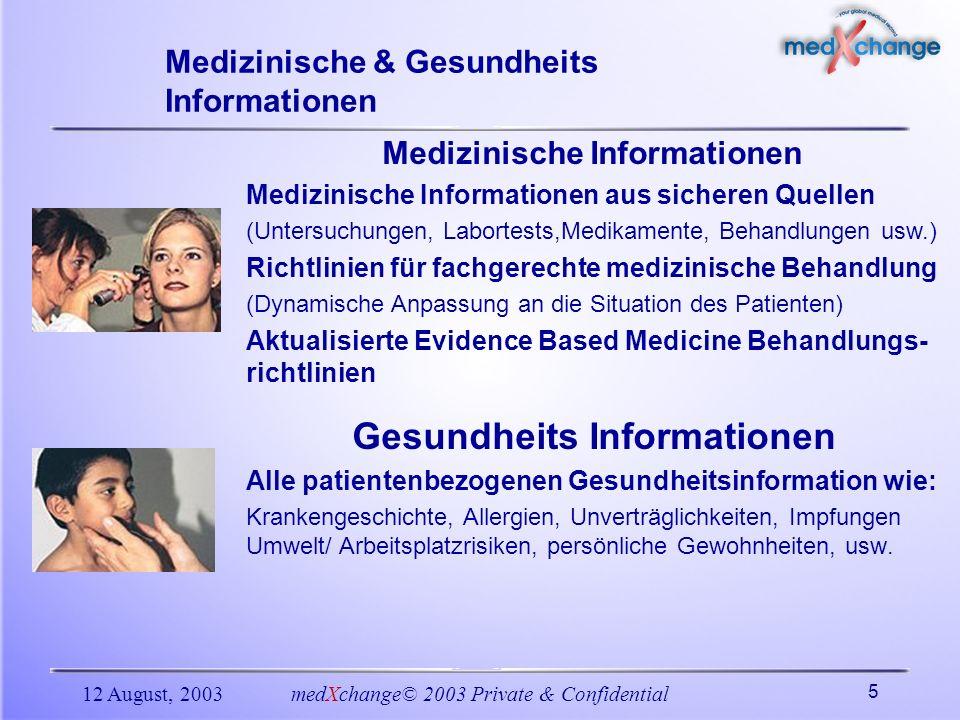 Medizinische & Gesundheits Informationen