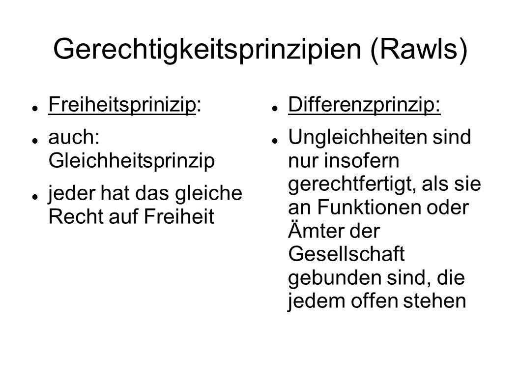 Gerechtigkeitsprinzipien (Rawls)