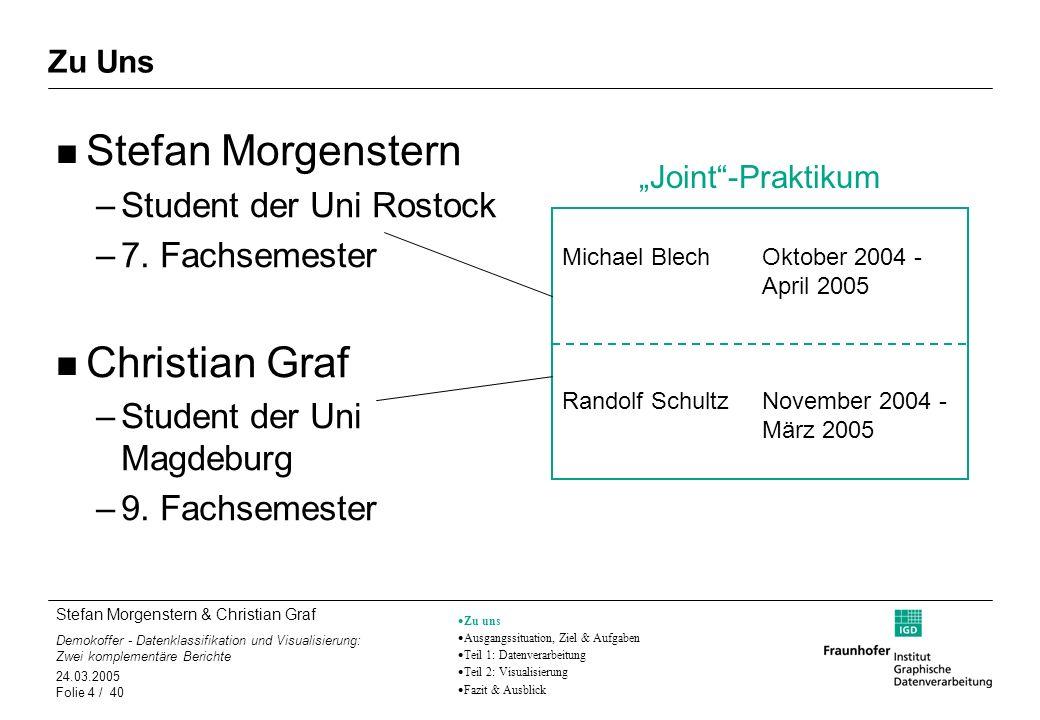 Stefan Morgenstern Christian Graf Student der Uni Rostock