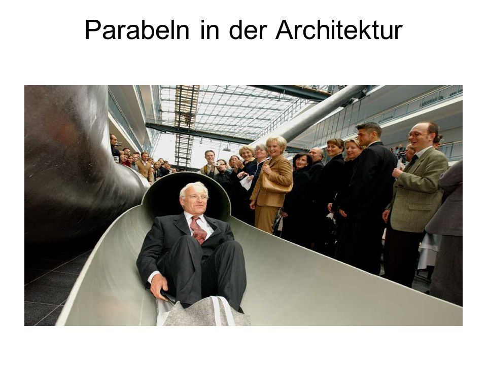 Parabeln in der Architektur