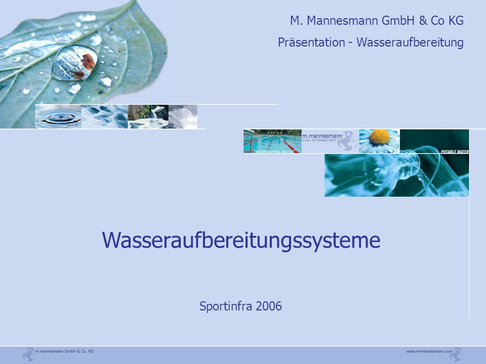 Wasseraufbereitungssysteme