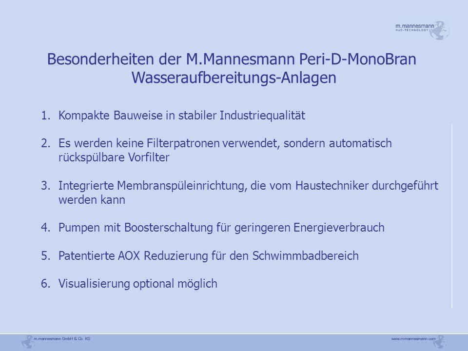 Besonderheiten der M.Mannesmann Peri-D-MonoBran