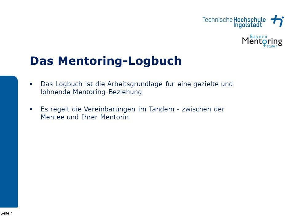 Das Mentoring-Logbuch