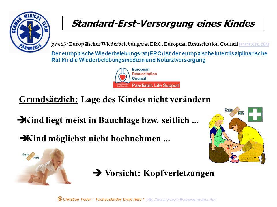 Standard-Erst-Versorgung eines Kindes