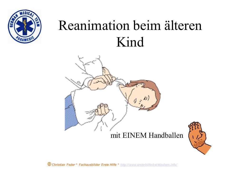Reanimation beim älteren Kind