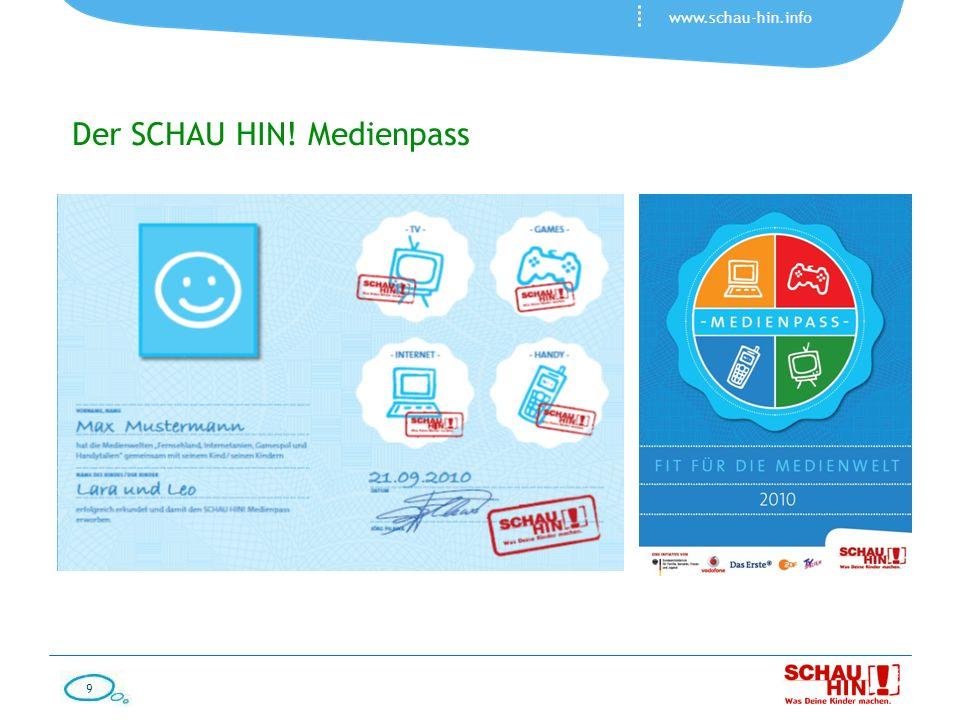 Der SCHAU HIN! Medienpass
