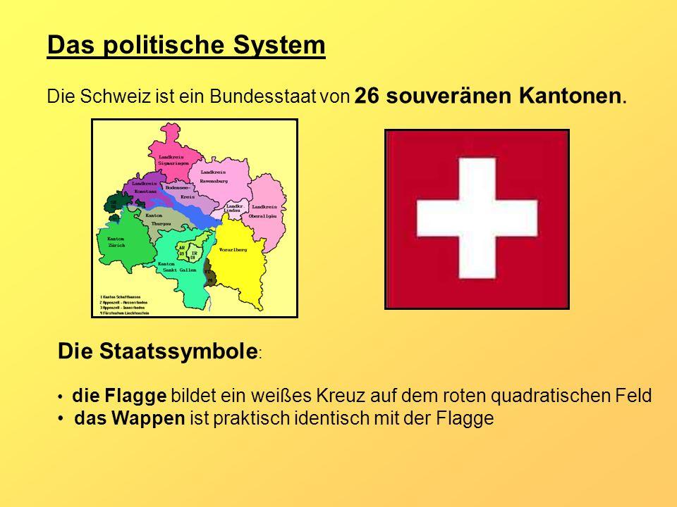 Das politische System Die Staatssymbole: