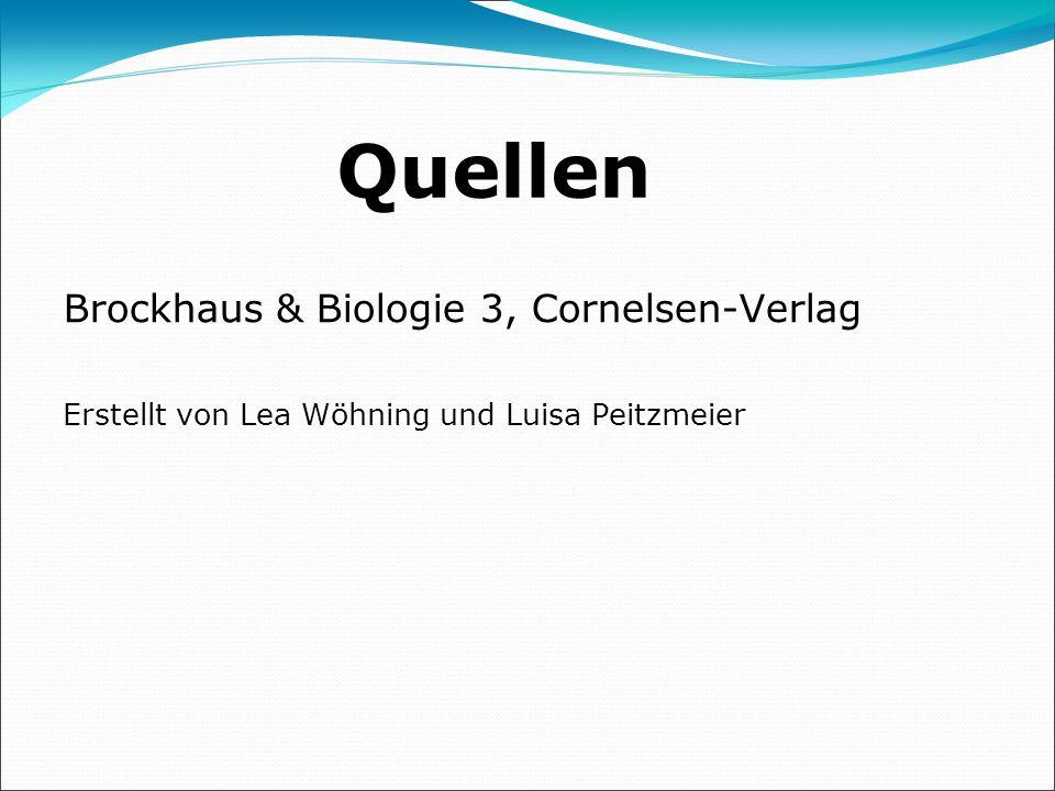 Quellen Brockhaus & Biologie 3, Cornelsen-Verlag