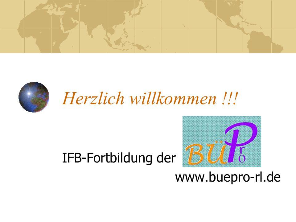IFB-Fortbildung der www.buepro-rl.de