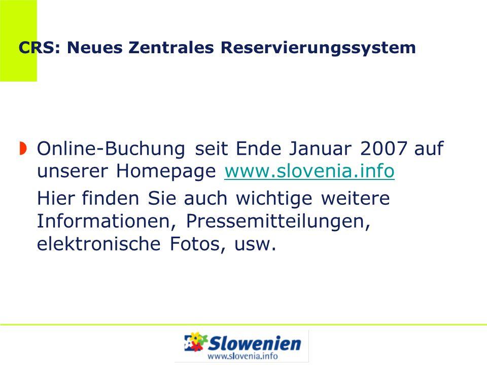 CRS: Neues Zentrales Reservierungssystem