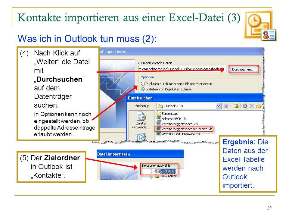 Kontakte importieren aus einer Excel-Datei (3)