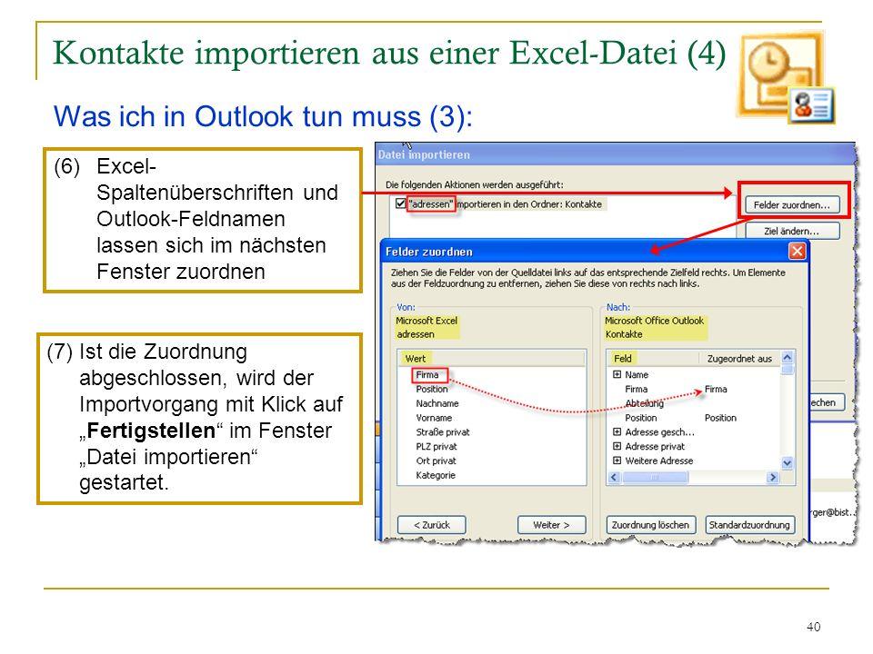 Kontakte importieren aus einer Excel-Datei (4)