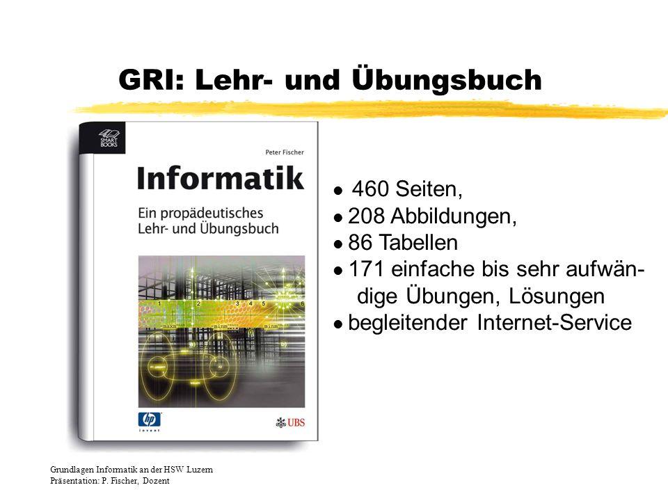 GRI: Lehr- und Übungsbuch