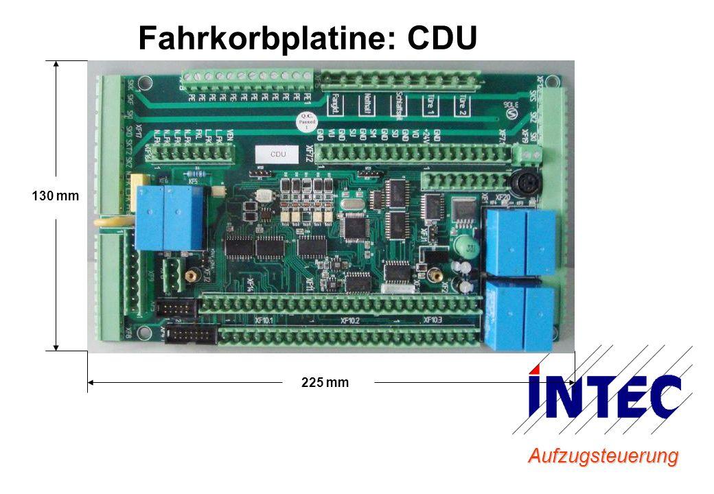 Fahrkorbplatine: CDU 130 mm 225 mm Aufzugsteuerung