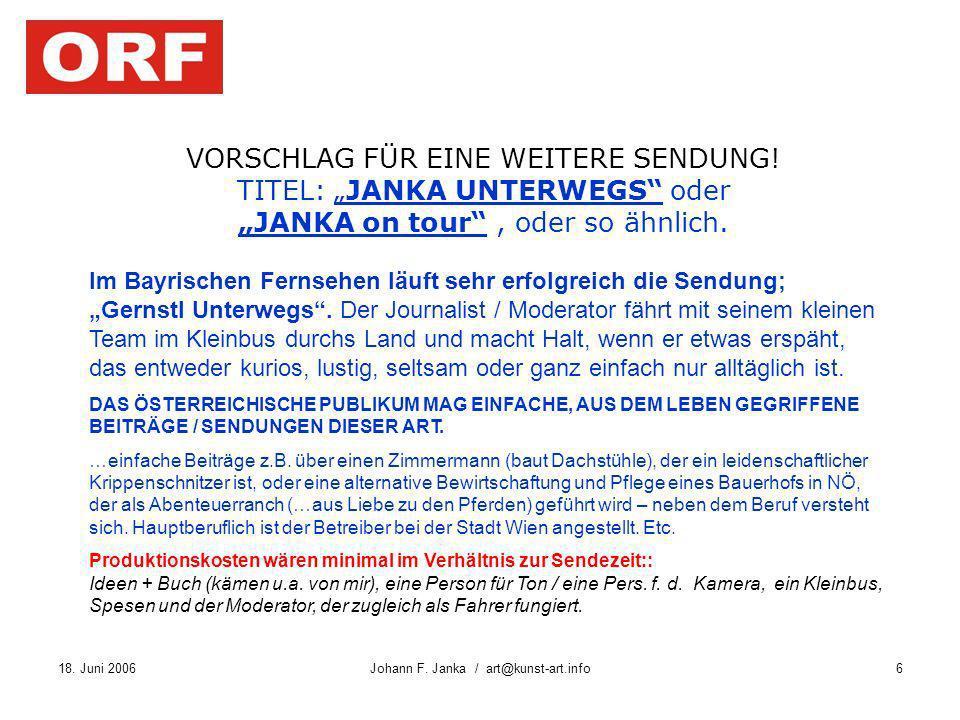 Johann F. Janka / art@kunst-art.info