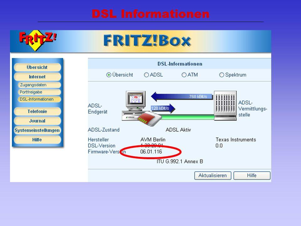 DSL Informationen