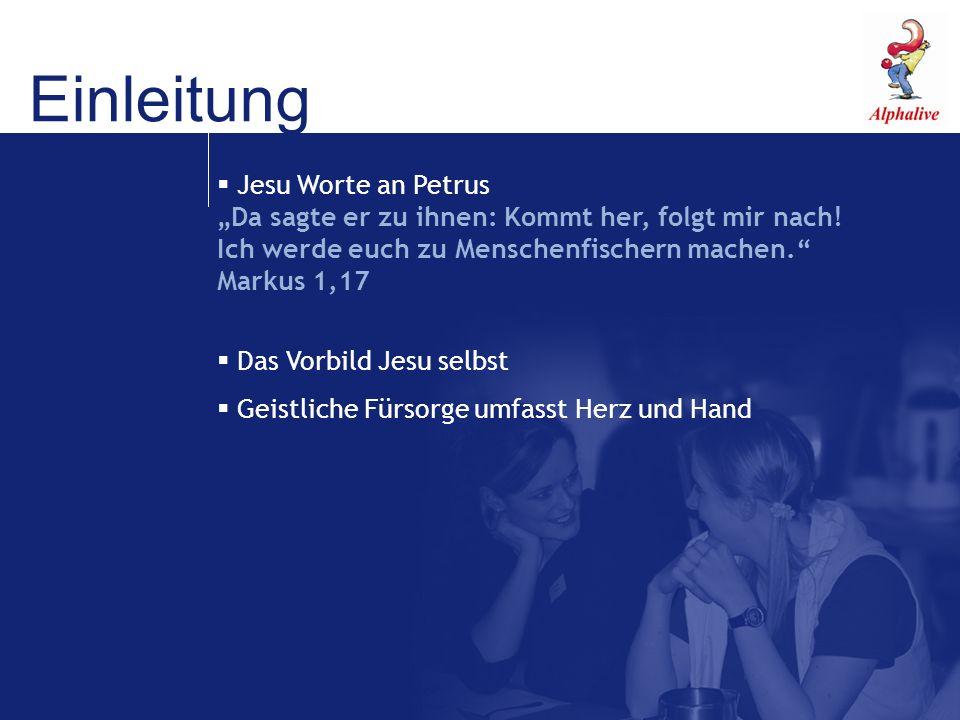 Einleitung Jesu Worte an Petrus