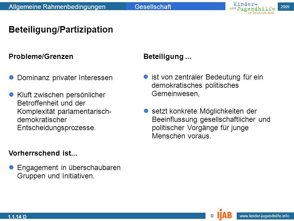 Beteiligung/Partizipation