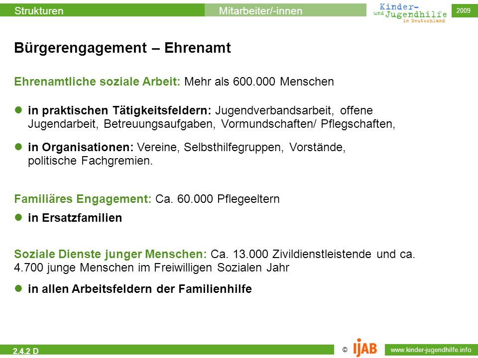 Bürgerengagement – Ehrenamt