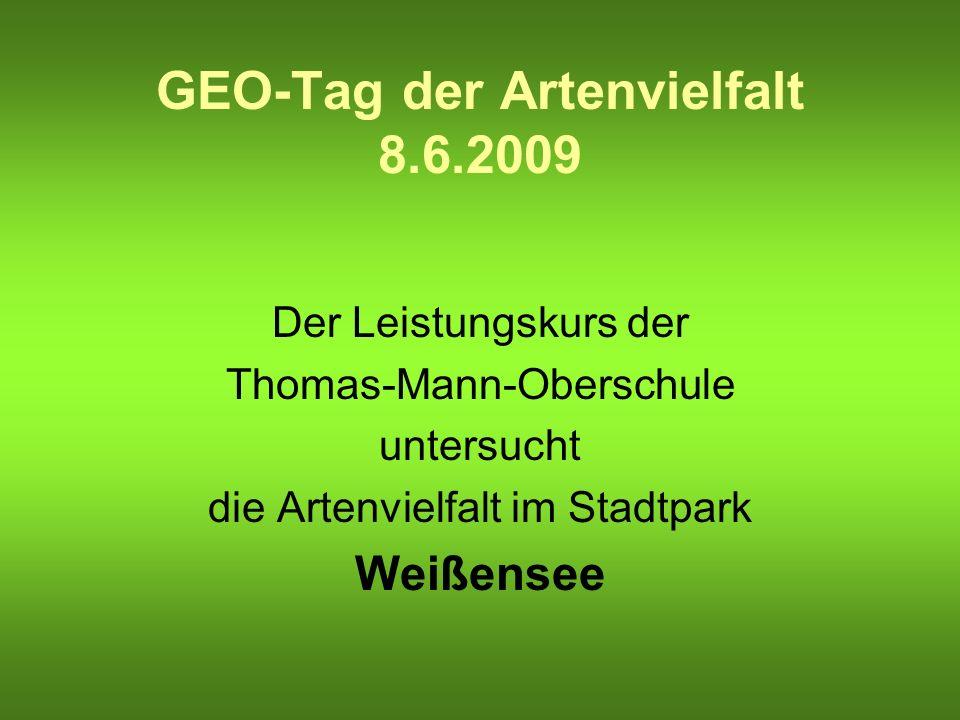 GEO-Tag der Artenvielfalt 8.6.2009