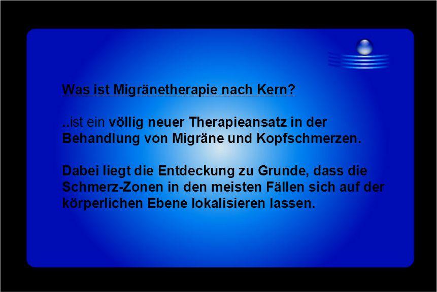 Was ist Migränetherapie nach Kern