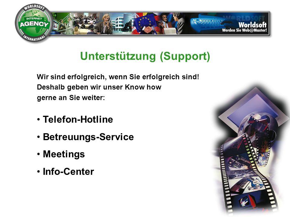 Unterstützung (Support)