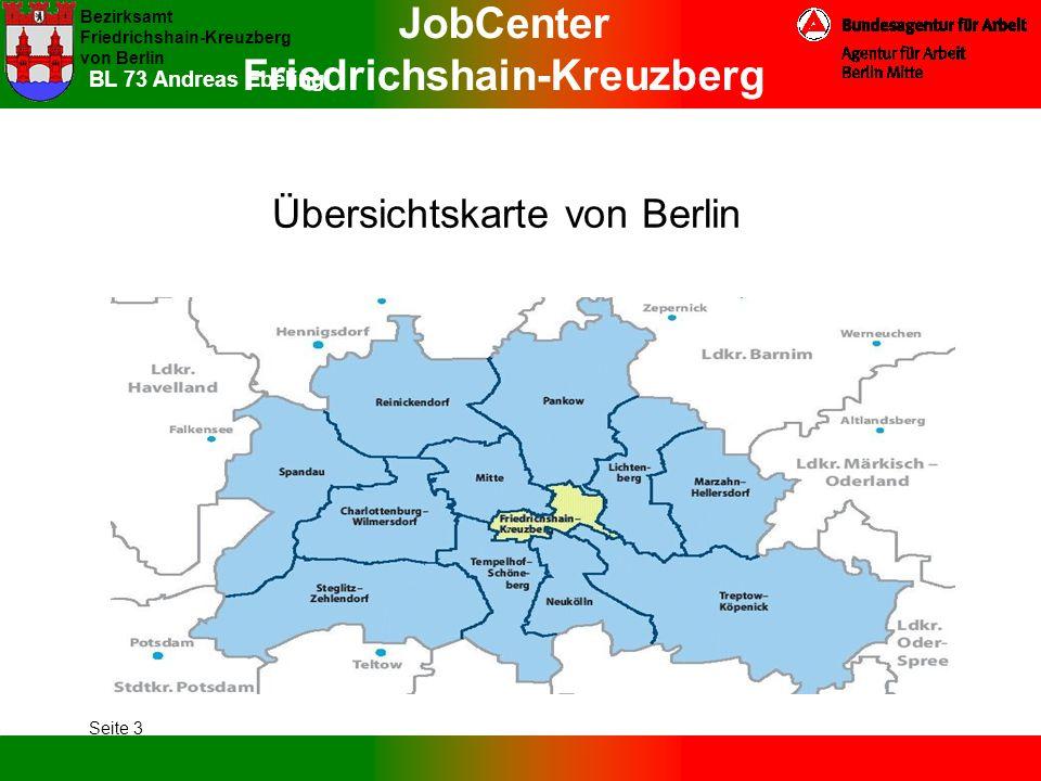 Übersichtskarte von Berlin