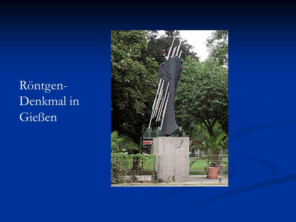 Röntgen-Denkmal in Gießen