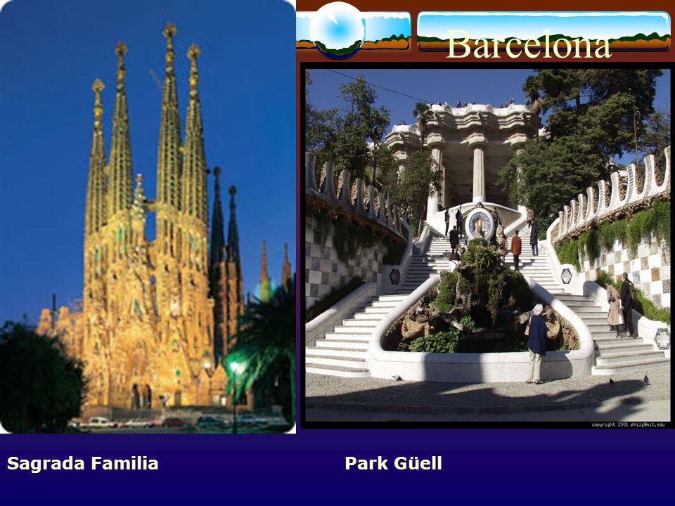 Barcelona Sagrada Familia Park Güell