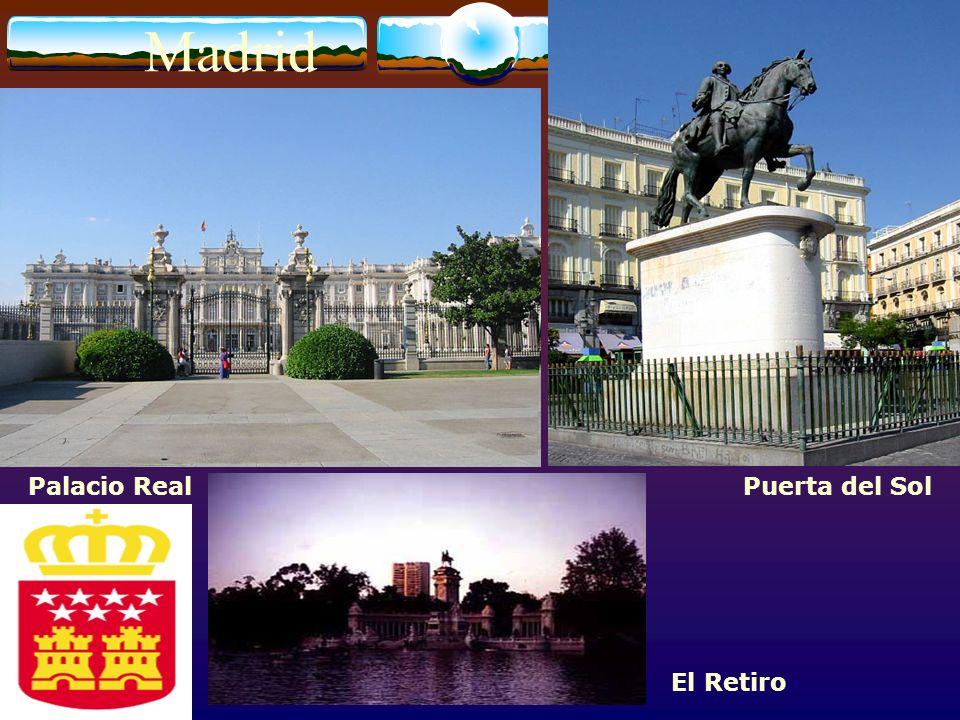 Madrid Palacio Real Puerta del Sol El Retiro