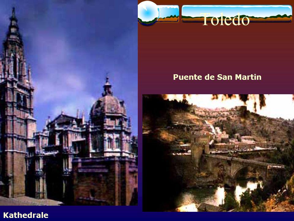 Toledo Puente de San Martin Kathedrale