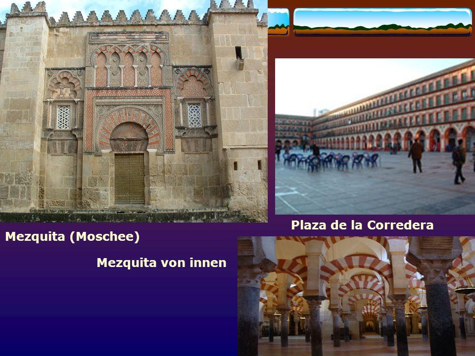 Córdoba Plaza de la Corredera Mezquita (Moschee) Mezquita von innen