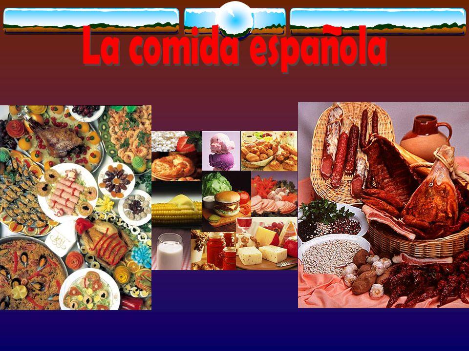 La comida espanola