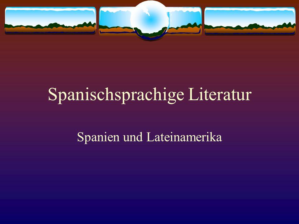 Spanischsprachige Literatur