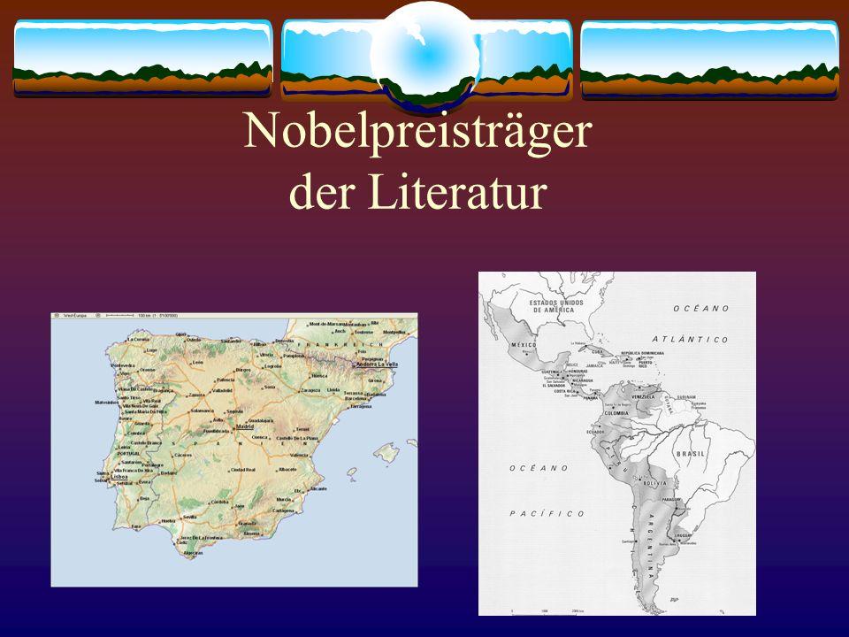 Nobelpreisträger der Literatur