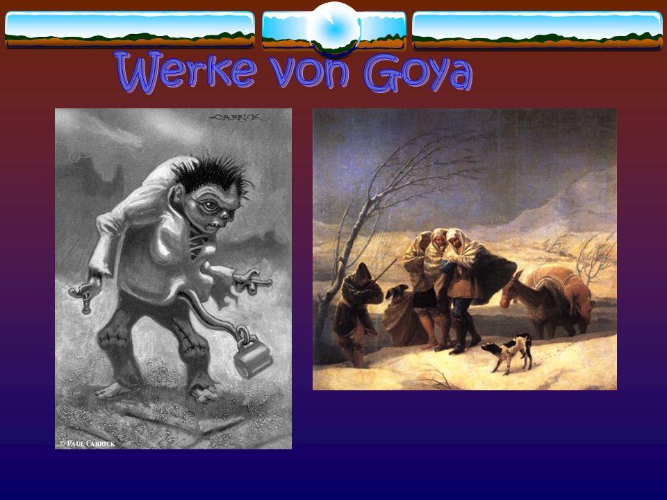 Werke von Goya