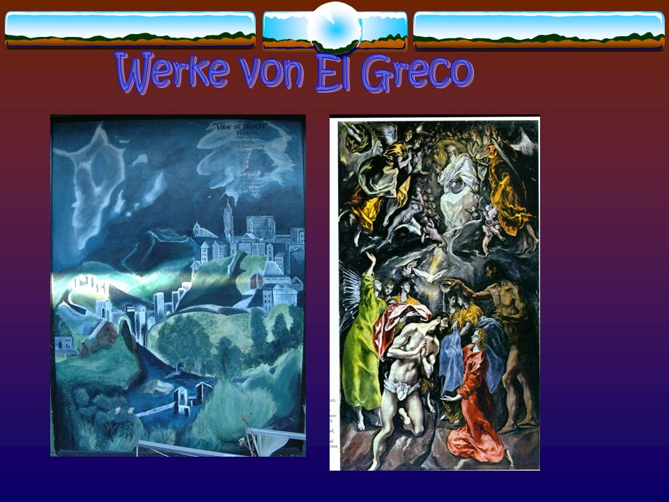 Werke von El Greco