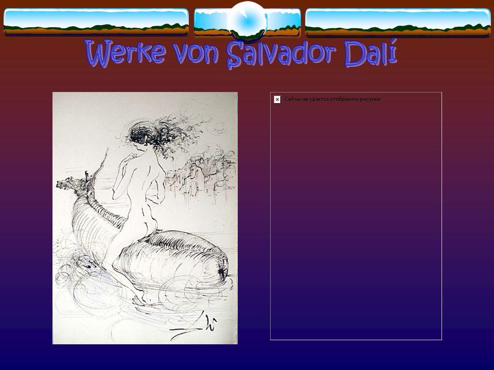 Werke von Salvador Dalí