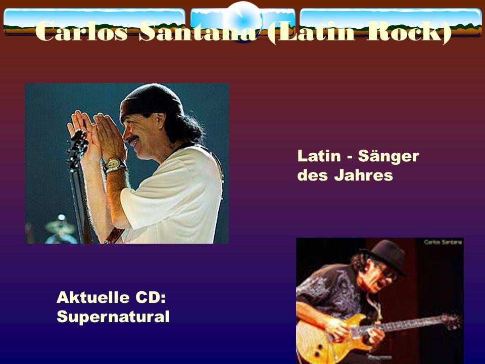 Carlos Santana (Latin Rock)