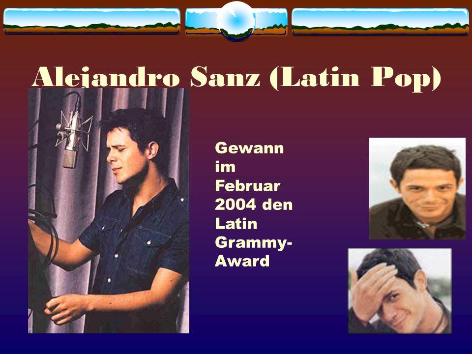 Alejandro Sanz (Latin Pop)