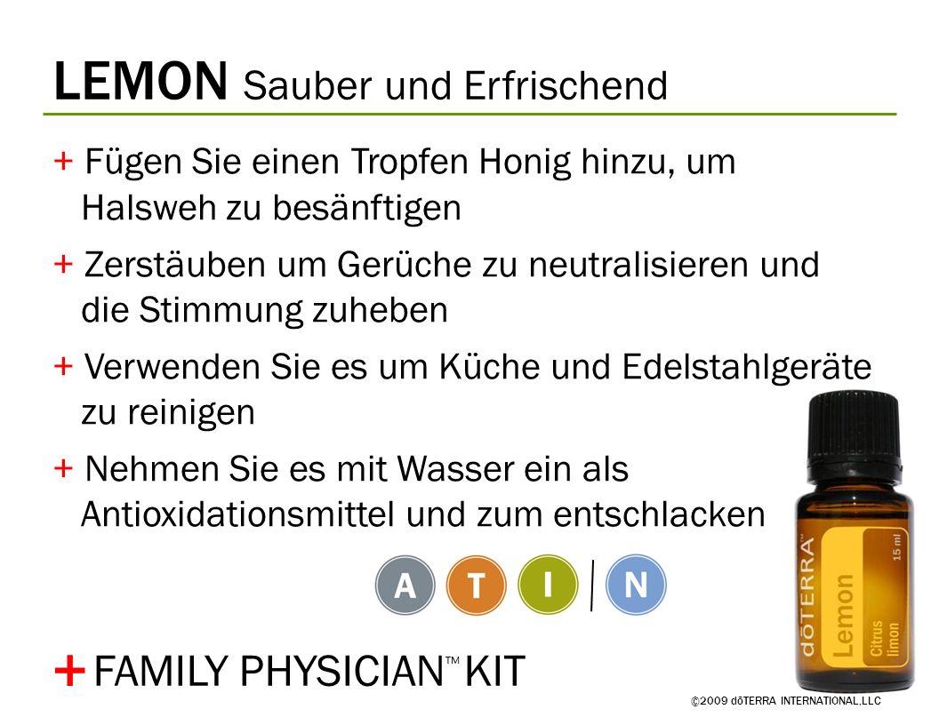 + LEMON Sauber und Erfrischend FAMILY PHYSICIAN™ KIT