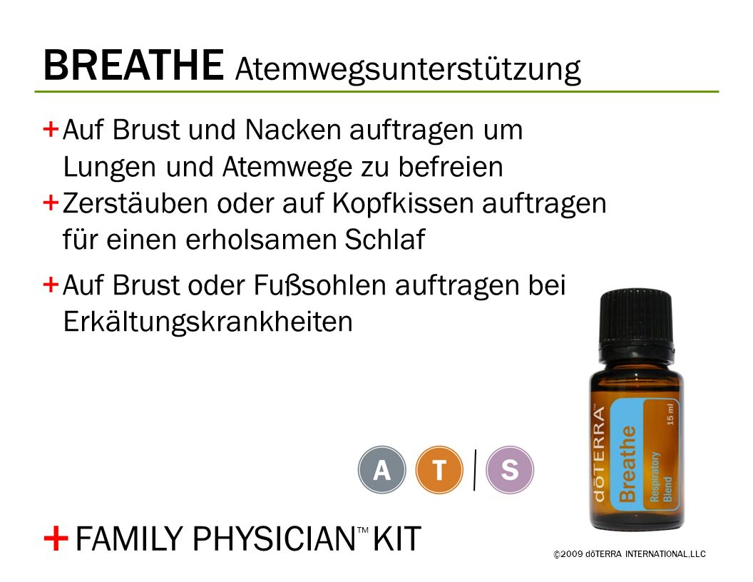 + BREATHE Atemwegsunterstützung FAMILY PHYSICIAN™ KIT