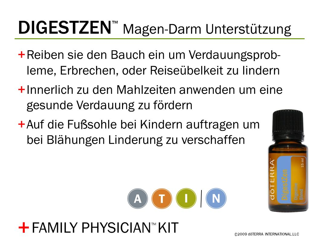 + DIGESTZEN™ Magen-Darm Unterstützung FAMILY PHYSICIAN™ KIT
