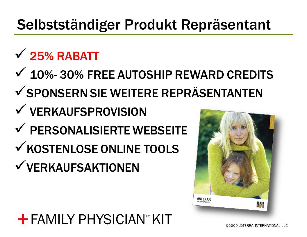 + Selbstständiger Produkt Repräsentant FAMILY PHYSICIAN™ KIT
