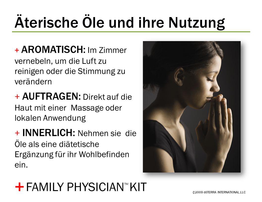 + Äterische Öle und ihre Nutzung FAMILY PHYSICIAN™ KIT